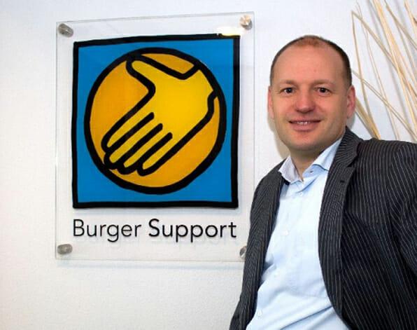 Burger-Support