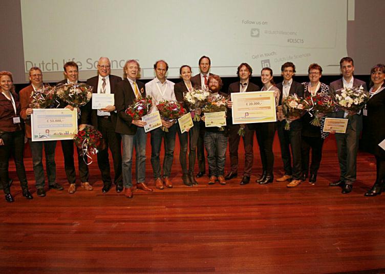 foto genomineerden en winnaars