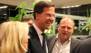 Mark Rutte. (foto: Kees Bakker)