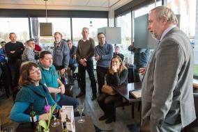 Foto - Ondernemersspreekuur op locatie Noordersluis- Fotostudio Wierd