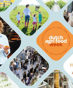 FlevoZine - Dutch Flyer Dutch Agri Food Week 2016