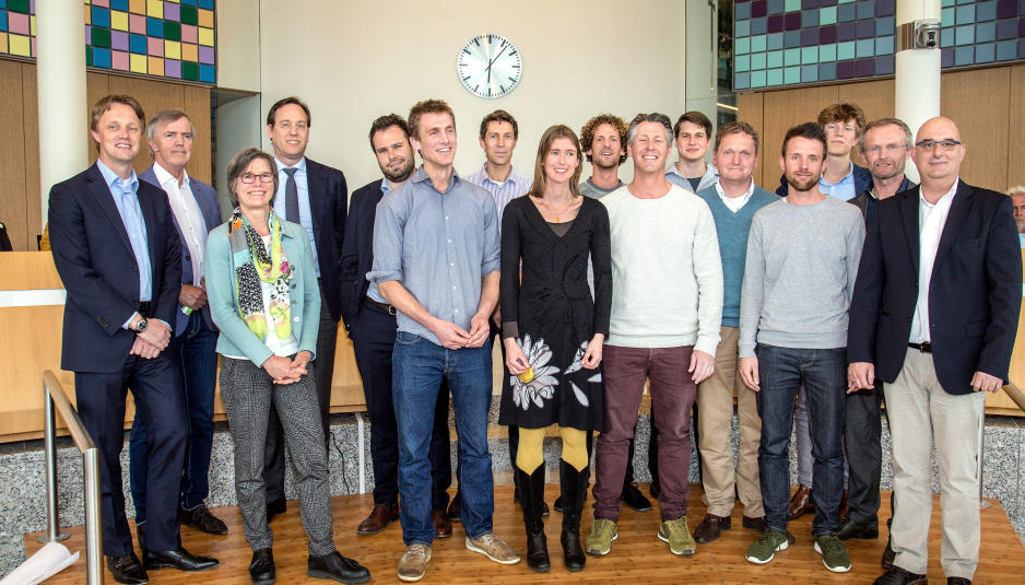 Foto finalisten en jury Floriade Werkt! Challenge