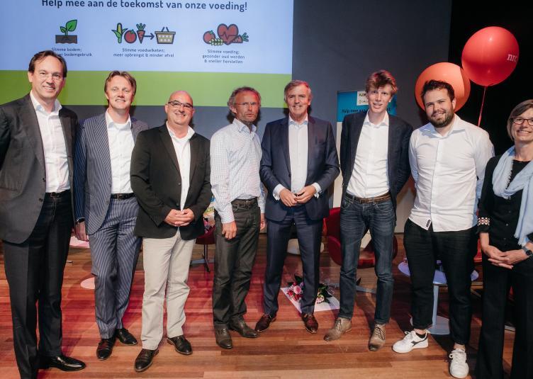 Winnaars en jury Floriade Werkt! Challenge