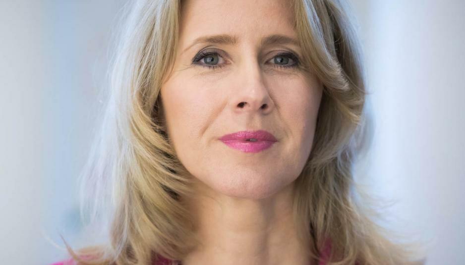 Den Haag, 3 april 2018. Mona Keijzer, staatssecretaris van Economische Zaken en Klimaat.